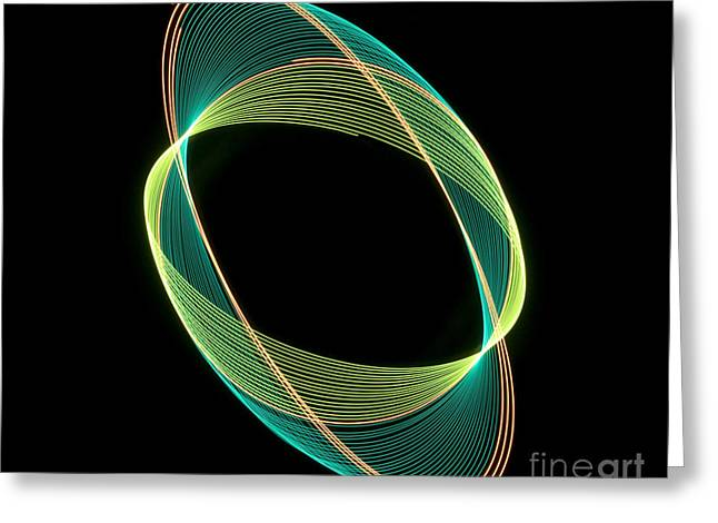 Technical Photographs Greeting Cards - Pendulum in Motion  Greeting Card by Linnea Rundgren Linear Photography