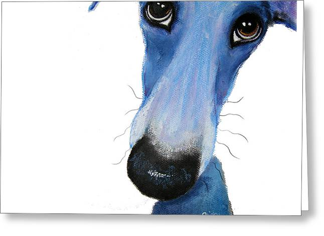 Puppies Pastels Greeting Cards - Penelope Greeting Card by Shirley MacArthur