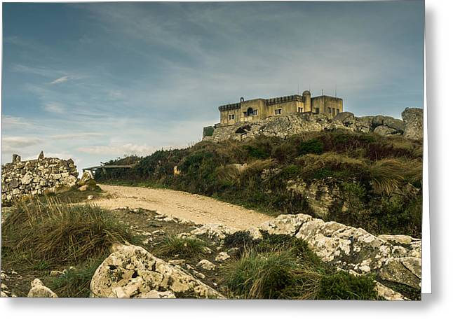 Christian Sanctuary Greeting Cards - Peninha Sanctuary VII Greeting Card by Marco Oliveira
