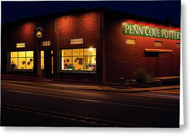 Penn Cove Pottery Greeting Card by Thomas Hall Photography