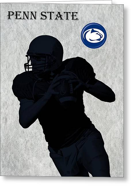 Waiting Room Digital Greeting Cards - Penn State Football Greeting Card by David Dehner