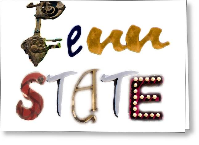 Deli Greeting Cards - Penn State Greeting Card by Tom Gari Gallery-Three-Photography