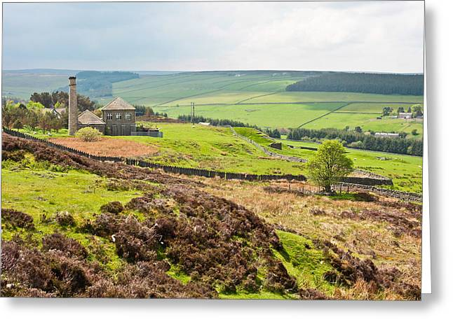 Pennine Hills Greeting Card by Tom Gowanlock