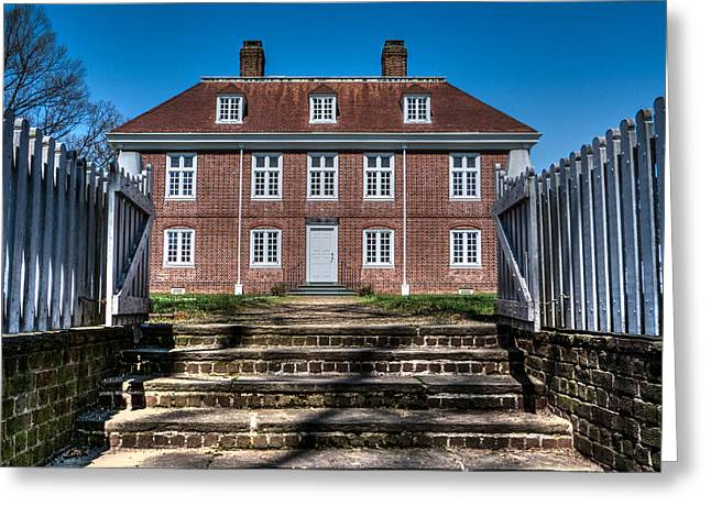 Pennsbury Greeting Cards - Pennsbury Manor Greeting Card by Capt Gerry Hare