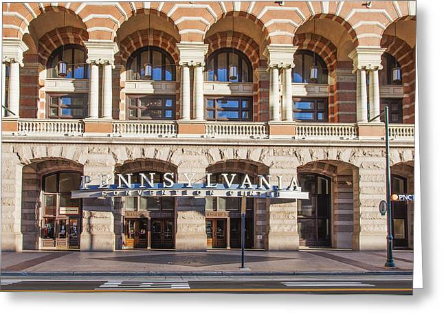 Convention Greeting Cards - Pennsylvania Convention Center Greeting Card by Bill Cannon