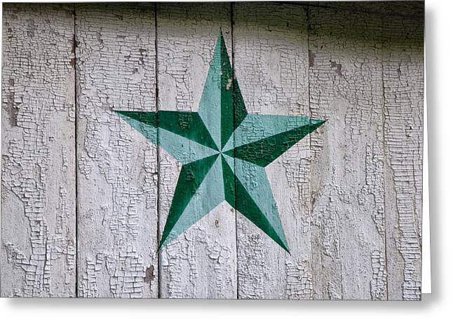Star Barn Greeting Cards - Pennsylvania Dutch Star Greeting Card by Bill Cannon