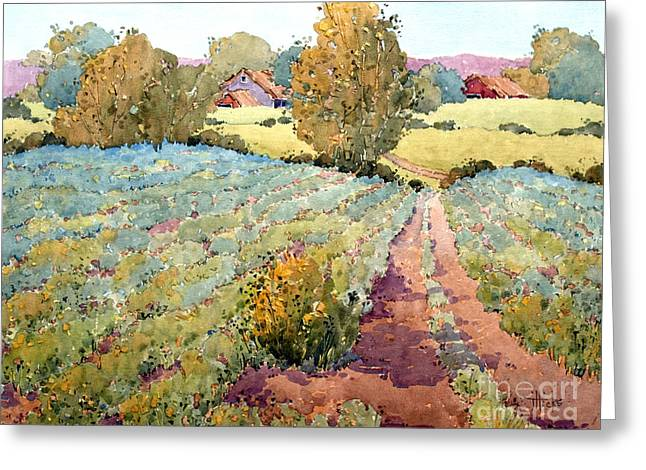 Joyce Hicks Greeting Cards - Pennsylvania Idyll Greeting Card by Joyce Hicks