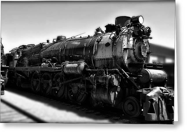 Strasburg Greeting Cards - Pennsylvania Railroad 6755  Greeting Card by Bill Cannon