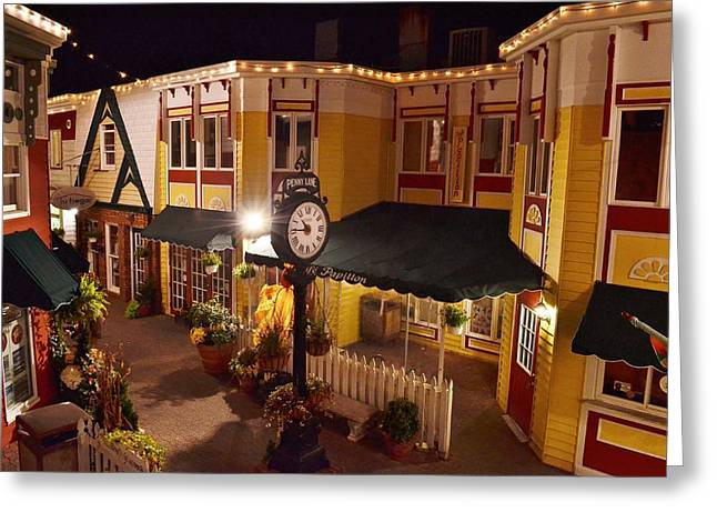 Penny Lane Greeting Cards - 2-Penny Lane - Rehoboth Beach Delaware Greeting Card by Kim Bemis