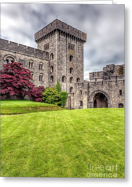 Arch Greeting Cards - Castle Grounds Greeting Card by Adrian Evans