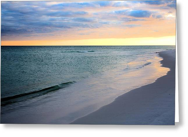 Florida Panhandle Greeting Cards - Pensacola Beach Simplicity  Greeting Card by JC Findley