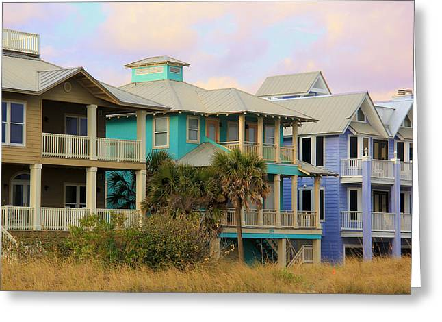 Pensacola Style Greeting Card by Kathy Bassett