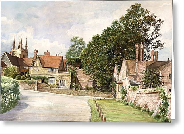 Crisp Greeting Cards - Penshurst Greeting Card by Steve Crisp