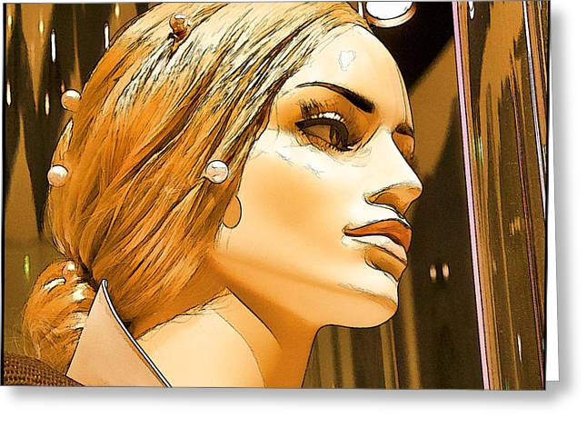 Desirable Greeting Cards - Penthouse Greeting Card by Chuck Staley