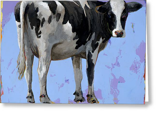 Pop Greeting Cards - People Like Cows #11 Greeting Card by David Palmer