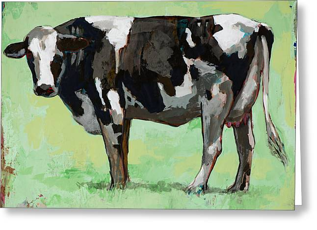 Pop Greeting Cards - People Like Cows #5 Greeting Card by David Palmer