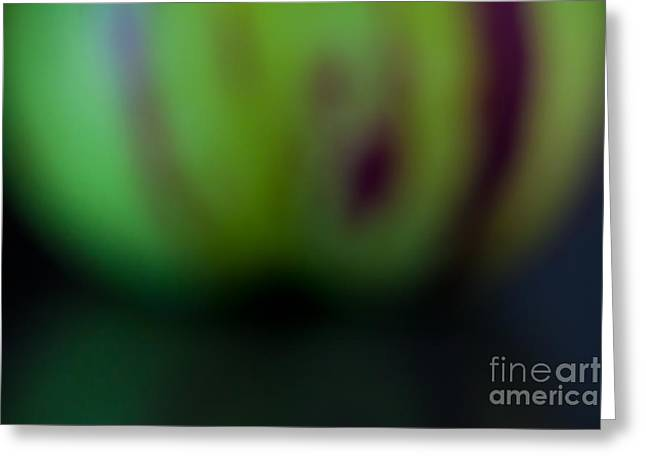 Recently Sold -  - Purple Abstract Greeting Cards - Pepino Greeting Card by Patricia Bainter