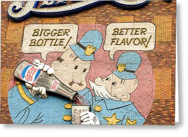Pepsi Cola Greeting Card by Charles Dobbs