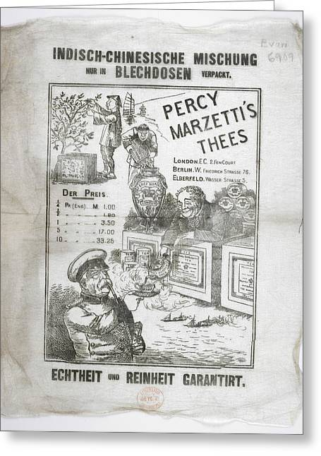 Percy Marzetti's Thees Greeting Card by British Library