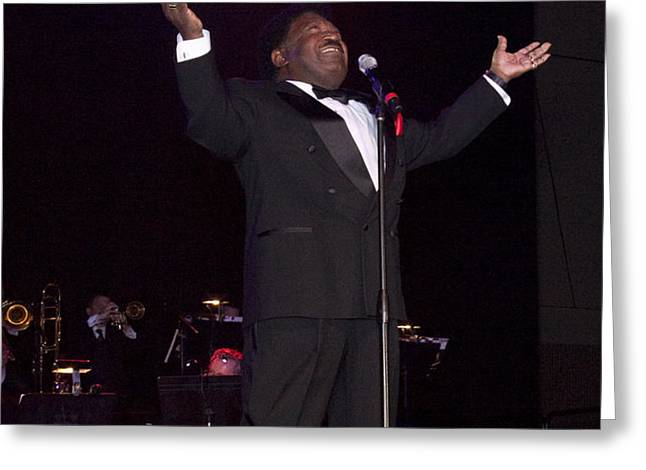 Percy Sledge Greeting Card by Carol Highsmith