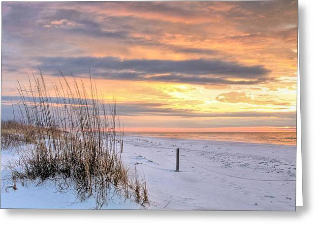 South West Florida Greeting Cards - Perdido on the Gulf Greeting Card by JC Findley