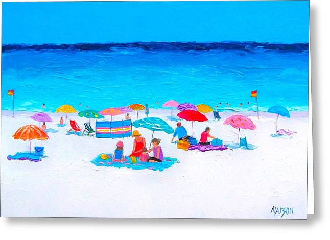 Ocean Art. Beach Decor Greeting Cards - Perfect Day Greeting Card by Jan Matson