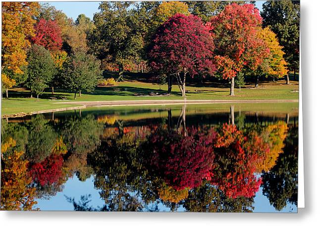Munroe Falls Greeting Cards - Perfect Day Greeting Card by Rob Blair