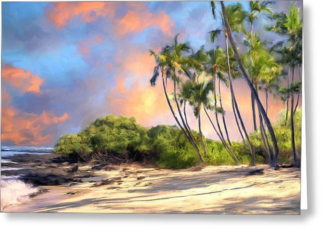 Lahaina Paintings Greeting Cards - Perfect Moment Greeting Card by Dominic Piperata