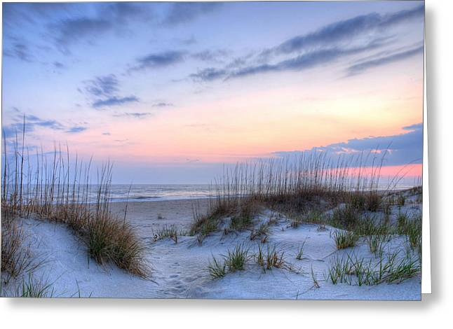 Wrightsville Beach Greeting Cards - Perfect Skies Greeting Card by JC Findley