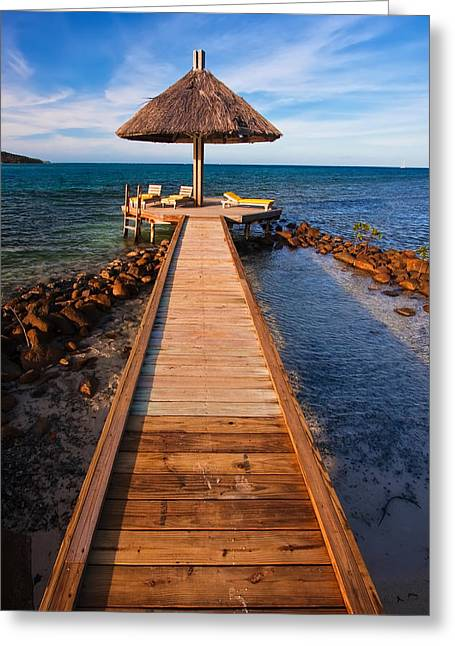 Cabanas Greeting Cards - Perfect Vacation Greeting Card by Adam Romanowicz