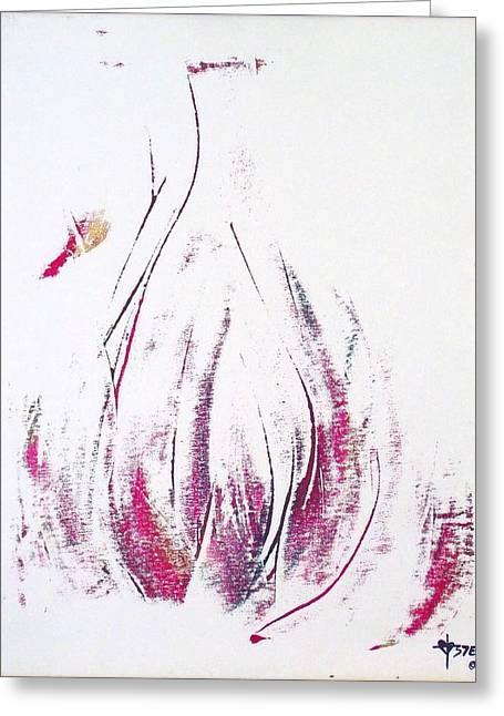 Bottle Of Perfume Greeting Cards - Perfumed Poured Out Greeting Card by Christine Nichols