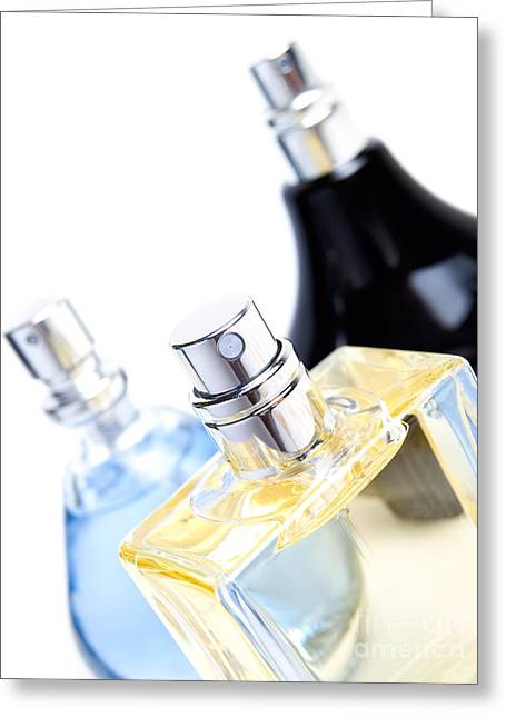 Perfumeries Greeting Cards - Perfumes Greeting Card by Sinisa Botas