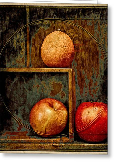 Perishables Greeting Card by John Anderson