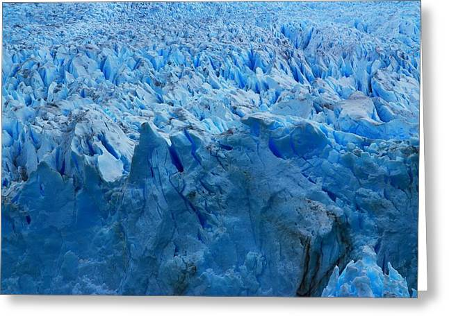 Andes Greeting Cards - Perito Moreno Glacier Greeting Card by FireFlux Studios