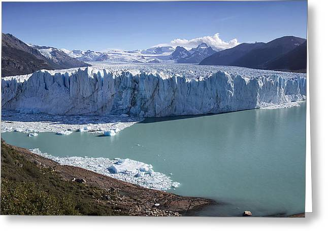 Kim Photographs Greeting Cards - Perito Moreno Glacier Greeting Card by Kim Andelkovic