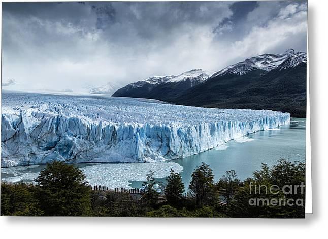 Santa Cruz Art Greeting Cards - Perito Moreno Glacier Greeting Card by Timothy Hacker