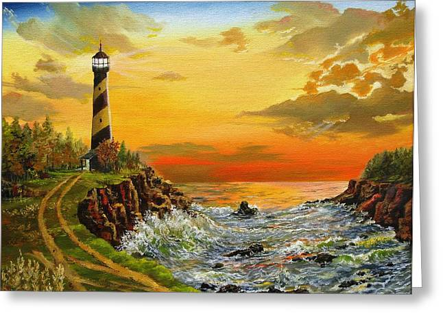 Kevin F Heuman Greeting Cards - Perrys Point Greeting Card by Kevin F Heuman