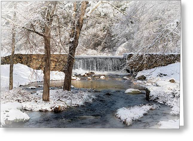 Stonewall Greeting Cards - Perryville Dam Greeting Card by Robin-lee Vieira