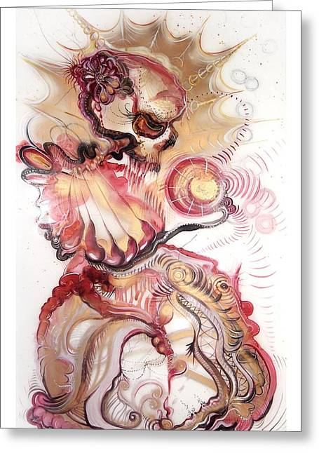 Award Greeting Cards - Persephone Greeting Card by Justine Serebrin