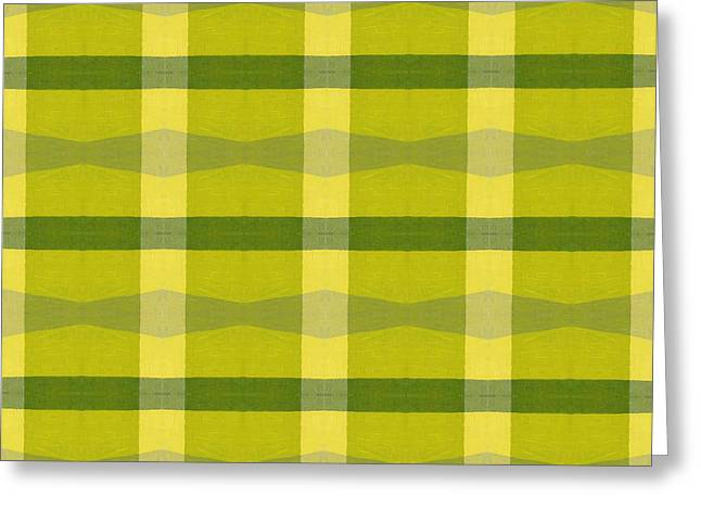 Geometric Style Greeting Cards - Perspective Compilation 16 Greeting Card by Michelle Calkins