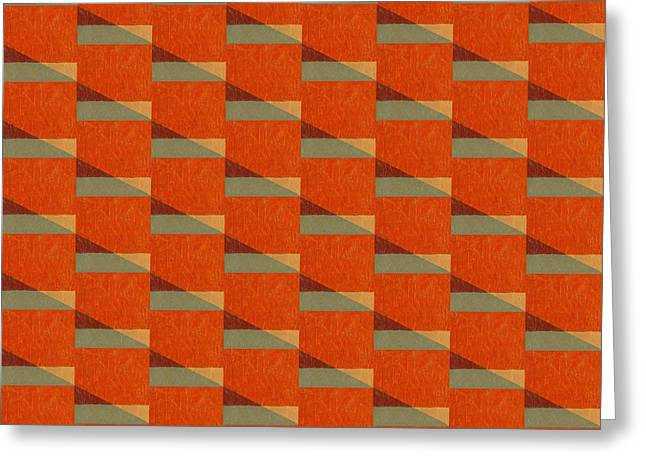 Abstract Style Greeting Cards - Perspective Compilation 3 Greeting Card by Michelle Calkins