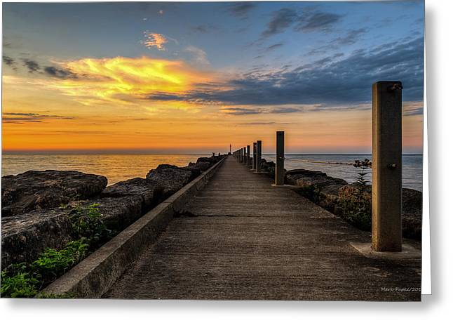Perspective Light Greeting Card by Mark Papke