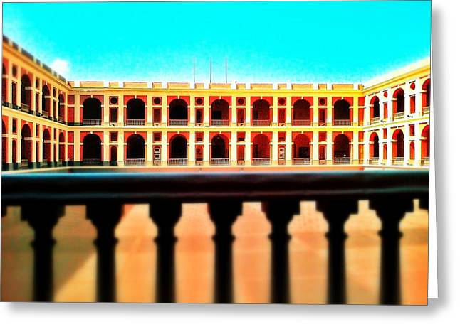 Old San Juan Greeting Cards - Perspective Greeting Card by Olivier Calas