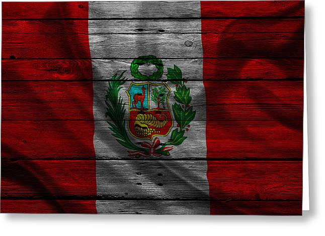 Continent Greeting Cards - Peru Greeting Card by Joe Hamilton