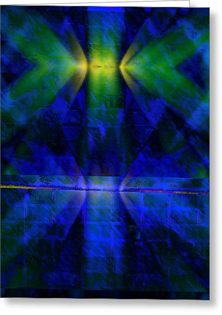 Photograph Tapestries - Textiles Greeting Cards - Petal On The Wall Greeting Card by Supaporn Hayachanta