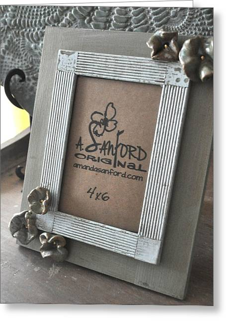 Spiers Ceramics Greeting Cards - Petal to the Metal Greeting Card by Amanda  Sanford