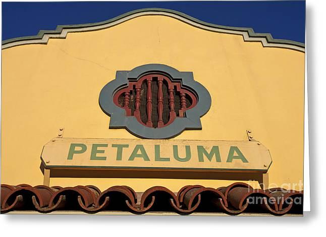 Petaluma Greeting Card by Jason O Watson