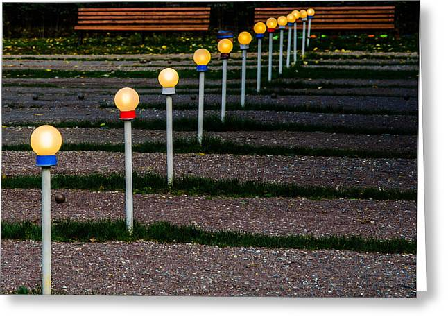 Ballgame Greeting Cards - Petanque - Featured 2 Greeting Card by Alexander Senin