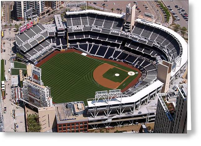 Petco Park Photographs Greeting Cards - Petco Ball Park Greeting Card by Mountain Dreams
