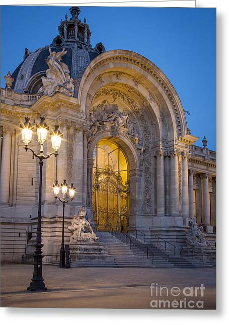 Convention Greeting Cards - Petite Palais Entrance Greeting Card by Brian Jannsen